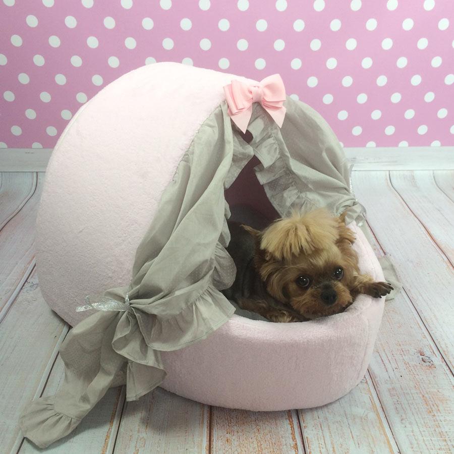 Домики для собак розовый